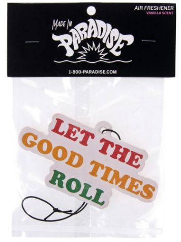 Jac Vanek Let The Good Times Roll Air Freshener