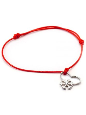 SilverSurf Snow Love Diamond Bracelet