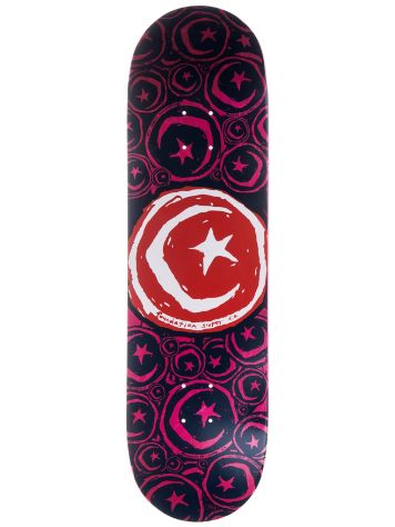 Foundation Star and Moon Stickered 8.75'' Skateboar