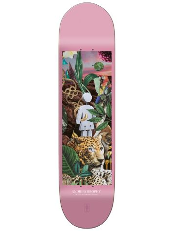 "Girl Jungle Series Andrew Brophy 8.25"" Deck"