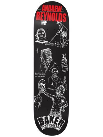 "Baker Reynolds Good Days 8.0"" Skateboard Deck"