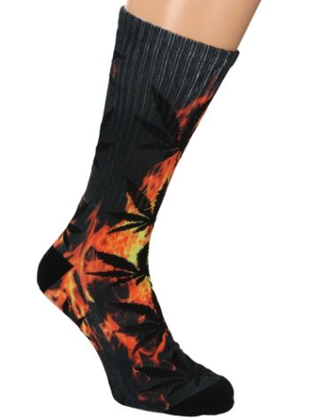 HUF Digital Plantlife Crew Socken