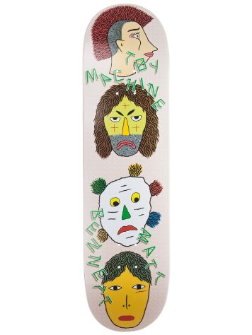 "Toy Machine Bennett Spirits 8.25"" Skateboard Deck"