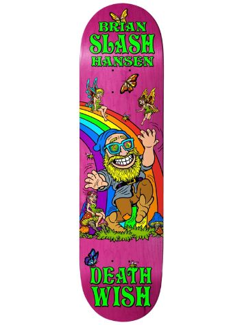 "Deathwish Slash Happy Place 8"" Skateboard Deck"